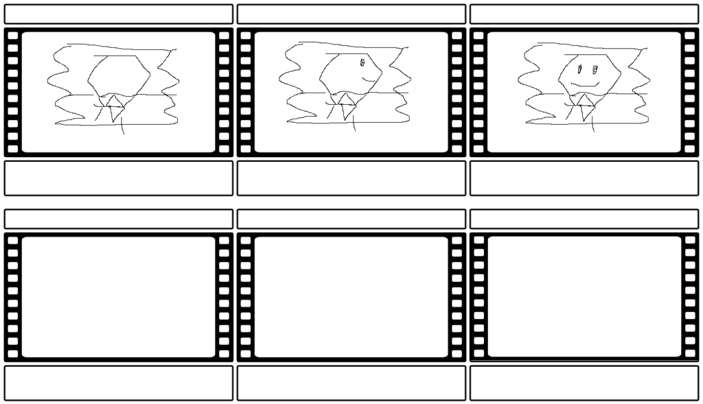 Storyboard for logo animation 2019.
