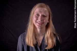 Portrætbillede af Caroline Greve Gregersen.